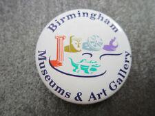 Birmingham Museums & Art Gallery Pin Badge Button (L14B)