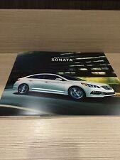 2015 Hyundai Sonata 10-page Original Sales Brochure