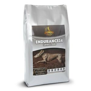 Endurance24 – Salmon & Potato Hypoallergenic Dry Dog Food 12kg & 1kg Bags