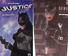 Medicom 1/6 Anime DC BATMAN Dark Knight NEW 52 and Catwoman HUSH Lot of 2 MIB