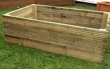 tanalised decking raised bed garden planter 900x900x360mm 3ftx3ft bnib vegetable
