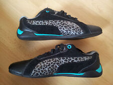 PUMA - V.90€ BASKETS FEMME RACING CAT ANIMAL WN'S BLACK BLUE GRASS 39 ETAT NEUF