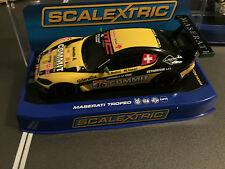 Scalextric C3511 Maserati Trofeo World Series 2013 #46 USA BOXED VERSION