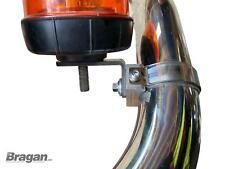 1x 63mm Stainless Spot Light Bracket For Abar Rollbar Bullbar Truck Light Bar