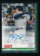 LUKE VOIT AUTO 2019 Topps Walmart Holiday Mega Autograph #/200 New York Yankees