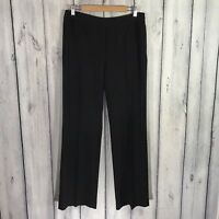 Peck And Peck Womens Dress Pants Size 8 Side Zipper Black