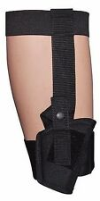 Concealed Ankle Holster w/ Calf Strap Fits Small Auto .22 .380 Guns Size 00 266B