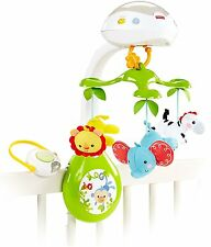 Used Fisher-Price Deluxe Projection Mobile Rainforest Friends 3-in-1 DOESNT SPIN