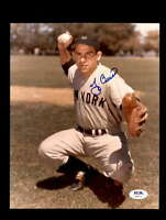 Yogi Berra PSA DNA Coa Hand Signed 8x10 Photo Autograph