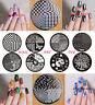 Nail Art Stamping-Decorazione Unghie-Disco-Piastra con Disegni diversi Manicure!