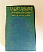 Book 1918 THE FOUR HORSEMEN OF THE APOCALYPSE by Vicente Blasco Ibanez