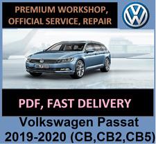 Volkswagen Passat 2019-2020 (CB,CB2,CB5) Workshop Manuals