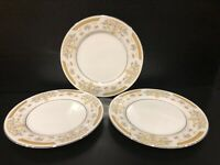 Signature Collection Fine China Coronet Roll? Plate Japan 117 set of 3- EUC!!!
