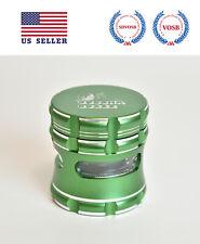 BuddhaBuzzz 2.5 Inch Aluminum Herb/Tobacco Grinder(Green)