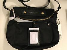 Black Marc Jacobs Preppy Sasha Nylon Crossbody Handbag Moo14625