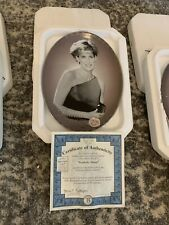 """Bradford Exchange """"Tenderly, Diana� Diana Collector's Plate - 1998"""