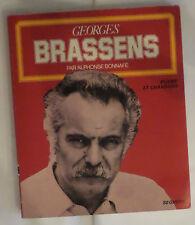Georges Brassens poesie et chansons  par Alphonse Bonnafe