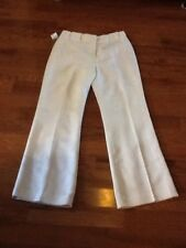 Ladies Size 8 SIGNATURE by LARRY LEVINE Ivory Lined Pants NEW