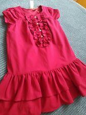 STRAWBERRY Faire Girl 3-4 anni vestito rosa Borgogna