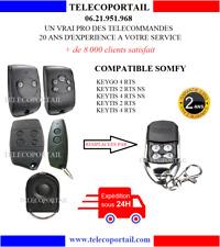 TELECOMMANDE COMPATIBLE SOMFY KEYTIS KEYGO TELIS  RTS  433,42MHZ