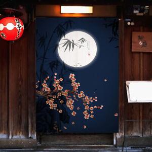 Japanese Noren Printed Cotton Linen Door Curtain Room Doorway Divider Tapestry