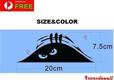 Funny Peeking Monster Scary Eyes For JDM Car/Bumper/Window Decal Sticker