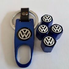 VW Volkswagen Blu in scatola Della Valvola Polvere Tappi BEETLE POLO GOLF JETTA T4 T5