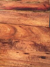 """Ultra Curly Pomele Hawaiian Koa Wood 7@24""""x1-10""""x1"""" Instrument Grade"""
