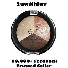 ELF E.L.F. MAKEUP BAKED EYESHADOW TRIO PEACH PLEASE #81291