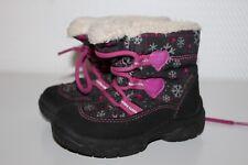 SUPERFIT GORE-TEX Baby Stiefel Halbschuhe Kinder Boots Schuhe Gr.23 schwarz pink