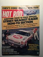 Vintage Hot Rod Magazines - 3 Mags - June, Sept, Dec 1973 - Good Condition -USED