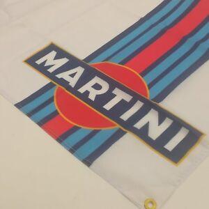 Martini Racing Flag Rossi Porsche Formula One Team F1 Banner Auto Car Verticle 1