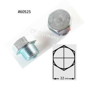 Nissan  1x Oelablassschraube 19G-JIS16  + 6 Dichtringe #60571(cp-#60525 )