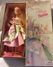 1996 BRAND NEW AVON SPECIAL EDITION SPRING PETALS BARBIE SECOND IN A SERIES