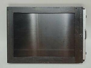 Vintage Graflex 5x7 Wooden Slotted Cut Film Holder w/ Dark Slides