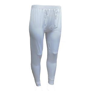Comfortech Men's Thermals Long Johns Warm Underwear Lightweight White Size 2XL