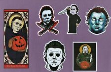 HALLOWEEN Stickers HORROR gore SLASHERS drama THRILLER psycho Michael Myers FILM