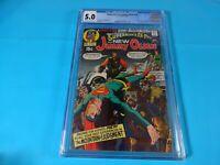 CGC Comic graded 5.0 superman jimmy olsen #134 1st darkseid app  Key issue MOVIE