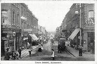 POSTCARD ALDERSHOT - UNION STREET - ANIMATED SCENE - CIRCA 1903