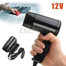 12V Hot & Cold Travel Car Portable Folding Camping Hair Dryer Window Defroster
