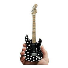 Buddy Guy Fender Stratocaster Polka Dot Mini Guitar Replica Collectible Gift