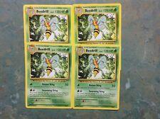 Pokemon cards 4 Beedrill 7/108 rare Playset Evolutions near mint