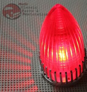 59 Cadillac Harley Bobber Hot Rat Rod Custom Red Tail Light Turn Signal Stop