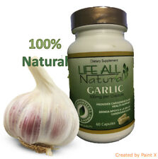 Garlic Pills Bulb Extract Capsules Herb Supplement Natural Pure Herbal Tablets