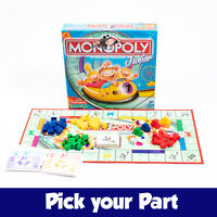 PICK YOUR PARTS - Monopoly Junior Board Game - SPARES / REPLACEMENTS