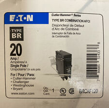 Eaton Type Br Combination Afci Single Pole 20a (Last one)