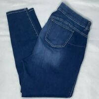 Torrid Bombshell Skinny Jeans 20R Dark Wash High Rise Premium Stretch Elastic