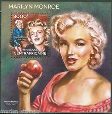 Central Africa 2014 Marilyn Monroe Souvenir Sheet Mint Nh