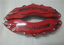 """Engineering Plastic Red AMG Brake Caliper Covers 11"""" Front for C & E class Benz"""