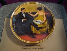 1983 Norman Rockwell Decorative Plate #16623 Rediscovered Women Collection Ex-Mt